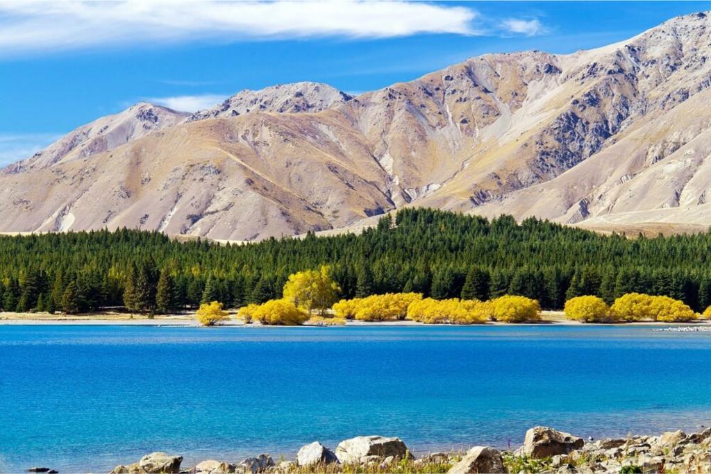Extraordinary Scenery of Lake Tekapo